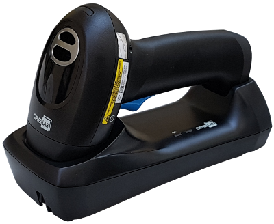 CipherLab 2560 Kit USB: bezdrátová čtečka 1D čárových kódů, Bluetooth, černá se závěsným poutkem