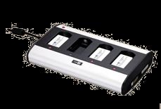 Dobíječka 4 baterií pro CipherLab CPT-8200, CPT-8230