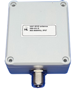 RFID_tag Priestorovo úsporná UHF RFID anténa, IP67, 865-868MHz, 2 dBi