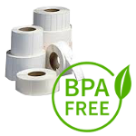 Self-adhesive labels 100 mm x 50 mm thermal, 500 lbl/roll (price for 1000 pcs) BPA free