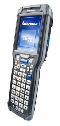 Mobile terminal with built-in RFID reader Honeywell CK70