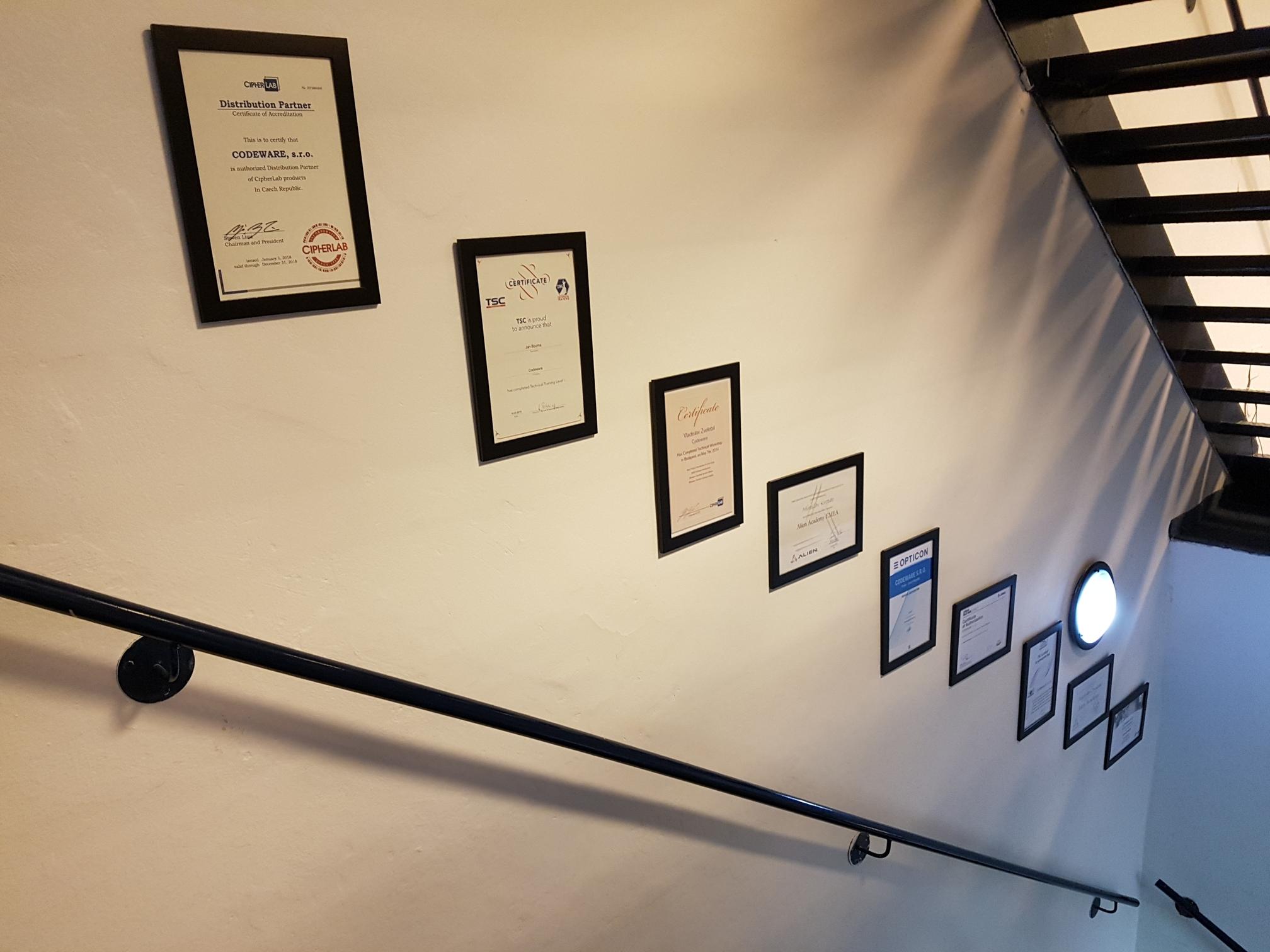 CODEWARE_certifications