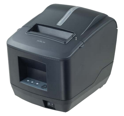 Birch CP-Q1 POS Receipt Printer with autocutter, USB+RS232+LAN, black