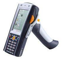 CipherLab CPT-9690 Laser, 128M, 1G, WinCE 6.0 Pro, BT, WLAN, GSM, QVGA, 29 kl.