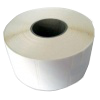 Self-adhesive labels 32 mm x 16 mm, PE, two rows, 2000 pcs/roll (the price for 1000 pcs)