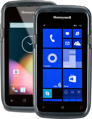Honeywell Dolphin CT50 - Windows 10 IoTME, 802.11 a/b/g/n/ac, 1D/2D Imager (N6600), 2.26 GHz Quad-core, 2GB/16GB Memory, 8MP Camera, BT 4.0, NFC, Battery 4,040 mAh