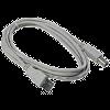 Kabel USB pro tiskárnu A-B, 1,8m, světlý