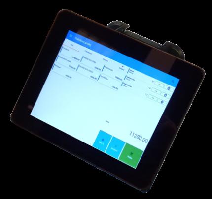 """Birch LCD-80 Přídavný zadní monitor pro A8TS nebo CZAR, tFlat, 8"""", 800x600"""