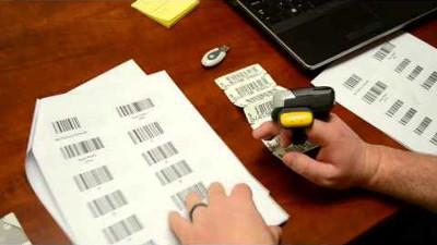 RS507 Ring Scanner, bezdrátová čtečka čárových a 2D kódů na dva prsty, handsfree, BT, 1D/2D
