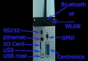 Rozhraní tiskárny TSC MX-240 / MX-340 / MX-340