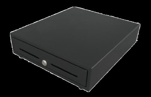 Birch POS-523 Peněžní zásuvka k PC nebo registrační pokladně, 6P24V, černá