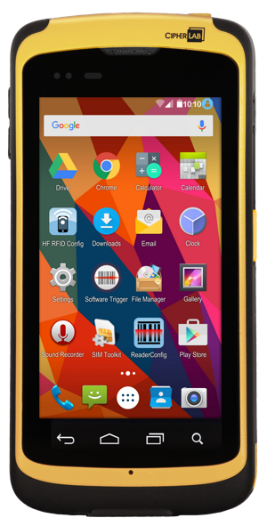 CipherLab RS50 robuster Smartphone