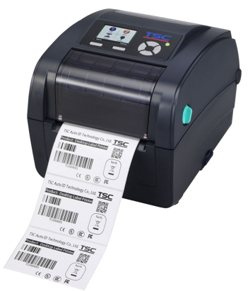 TSC TC310 Klapphandy Desktop-Barcode-Thermotransferdrucker, 300 dpi, 4 ips, LCD, USB+RS232+LAN, RTC