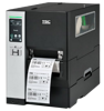 TSC MH640P Metal Industrial Bar Code Printer with touch LCD, internal rewinder, 600 dpi, 6 ips