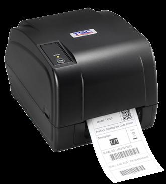 TSC TA-200-E Stolní TT tiskárna čárových kódů, 4 ips, 203 dpi, USB+RS232+LAN+LPT