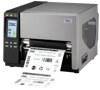 TSC TTP-286MT Metal Industrial Bar Code Printer, 203dpi, 8 inch wide print