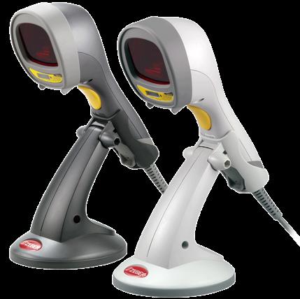 Zebex Z-3060 všesměrová ruční laserová čtečka čárových kódů se stojánkem, USB, černá