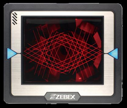 Všesměrový dual-laser pultový snímač čárových kódů Zebex Z-6181