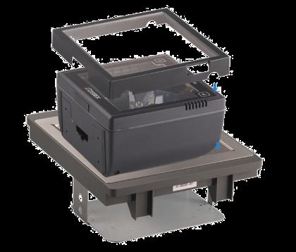 Pultový duální všesměrový laserový snímač čárových kódů Zebex Z-6182