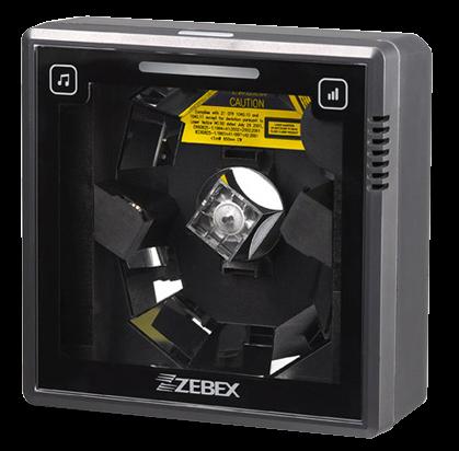 Zebex Z-6182 všesměrová pultová čtečka čárových kódů, dual-laser, USB