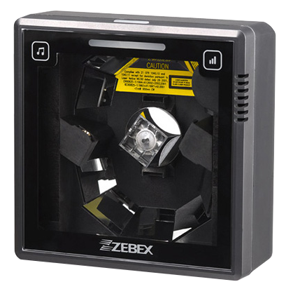 Zebex Dual-laser Omnidirectional In-Counter Code Scanner, USB